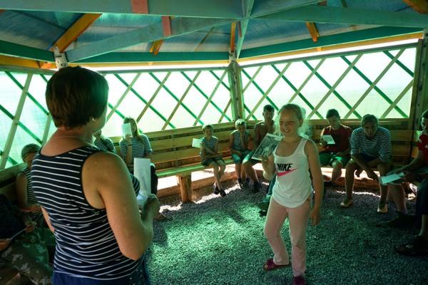 Краеведческий детский палаточный лагерь Фрегат